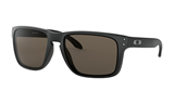 Oakley Holbrook XL Matte Black Sunglasses with Warm Grey Lenses
