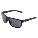 Adidas Whipstart Matt Black Sunglasses with Grey Polarized Lenses