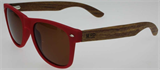 Moana Road Polarised Sunglasses - Red