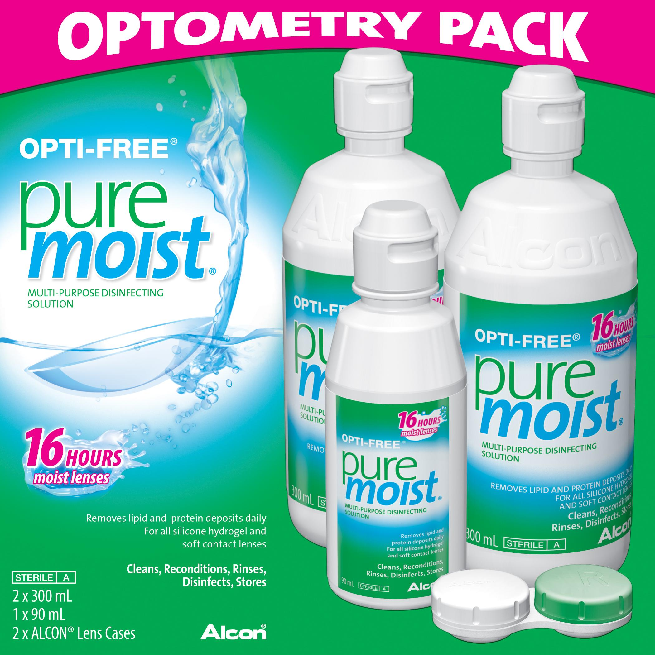 OptiFree Pure Moist Value Pack