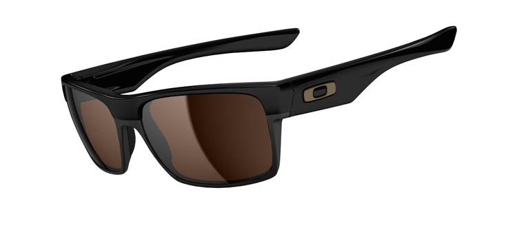 eb6a853514 Oakley Two Face Polished Black with Dark Bronze Lenses - Contact ...
