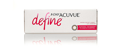 Acuvue 1 Day Define Shimmer